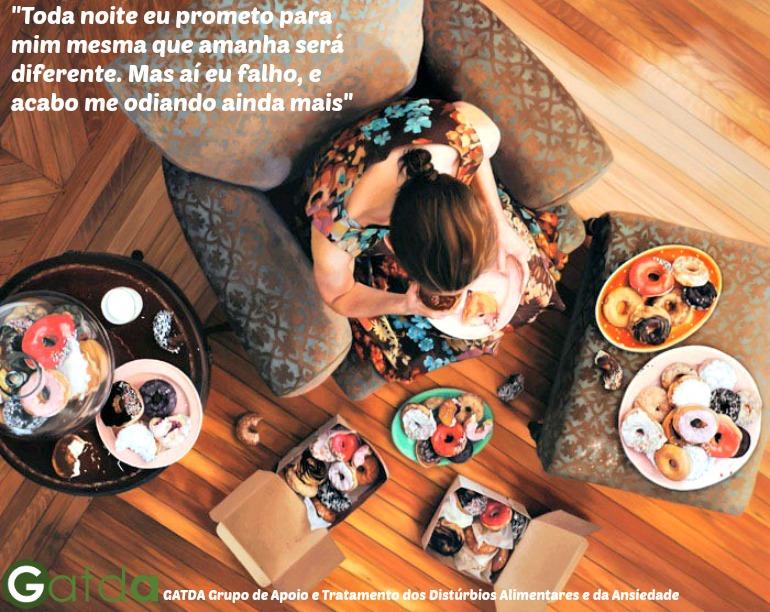 bulimia compulsão alimentar transtorno alimentar GATDA
