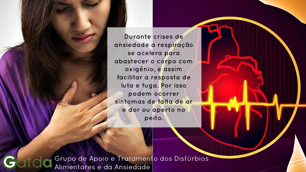 ansiedade dor dor no peito sintomas GATDA