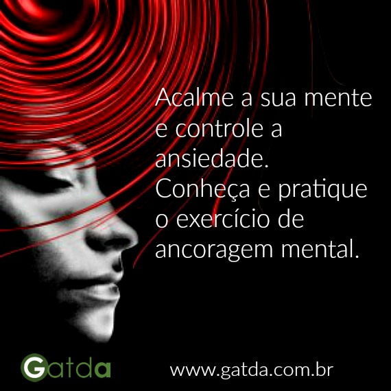 exercício para controlar a ansiedade GATDA
